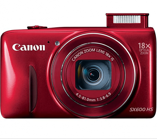 Canon PowerShot SX600 HS 16MP Digital Camera