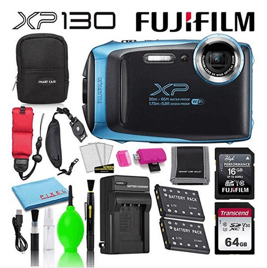 Fujifilm FinePix XP130 Shock and Waterproof Wi-Fi Digital Camera